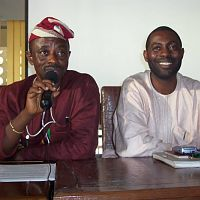Tunde Kelani and Femi Odugbemi