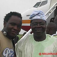 I met Chief Dr. Obey on a flight from Abuja to Lagos when I went to Nigeria in Summer of 2003