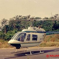 The helicopter used in Tade Ogidan's Hostages.