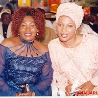Rosemary Ingbi (on the left) and a friend.