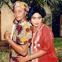 Hilda Dokubo with an actress (her name escapes me).