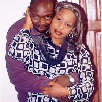 Segun Arinze and Rita Dominic
