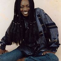 Ex Lagbaja lead vocalist, actress and singer Yinka Davies.