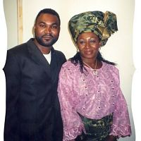 Taiwo Obude and Patience Ozokwor