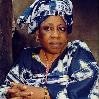Mrs Duro Ladipo, popularly known as Moremi.