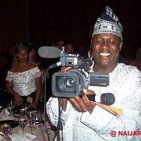 Kenny Ogungbe at the New York launch of AIT in America.