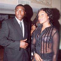 Bob Manuel and Oge Okoye