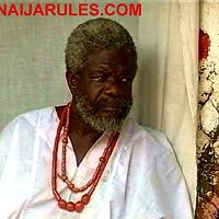 The Ifa divination priest of YMG.