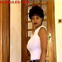 "The voluptuous Everly in YMG hit flick,""ALE ARIWO"""
