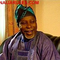 The legendary comedian(AJIMAJASHAN)in the YMG blockbuster,'AGBARA OBIRIN'.