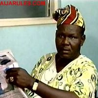 The great producer/director behind some of the best YMG productions,appearing in front of the camera in his 2003 hit flick,'ALE ARIWO'.