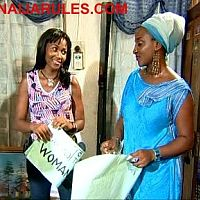 MARY REMMY and INI EDO as campus roommates in,'WAR GAME'.