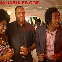DAKORE EGBUSAN,KALU IKEAGU and DESMOND ELLIOT in,'FOR REAL'.