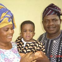 lola idije little Afolayan and kola oyewo