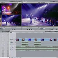 Multicam editing with 4 camcorders.