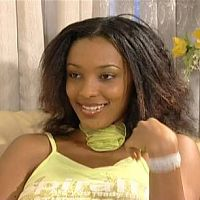 "This lovely young actress played the junior sister to Van Vicker in,""BEYONCE.THE PRESIDENT'S DAUGHTER""."