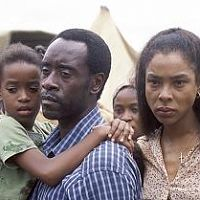 With Don Cheadle
