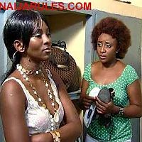 GENEVIEVE NNAJI and INI EDO in GIRL'S COT