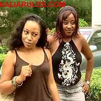 RITA DOMINIC and INI EDO in GIRL'S COT