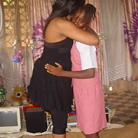 omo t hugging an orphan