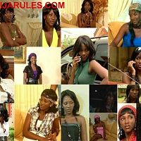 Genevieve Nnaji's collage of screenshots taken from flick GIRL'S COT.