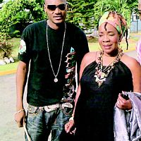 2baba and the widow of Robert N. Marley