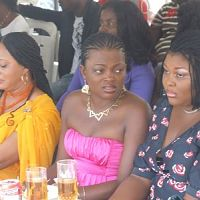 Bukky Wright, Funke Akindele, Ireti Osayemi At the City People event