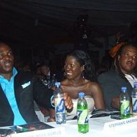 from most beautiful girl in nigeria 2008. RMD and Stephanie were judges