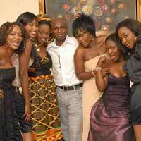 Jackie, Uche Jombo, Halima Abubakar and Ini edo...dnt realli knw d rest in d pic