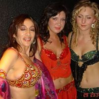 Belly dancer for the event.