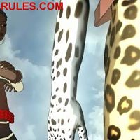 "Screen shots from the second episode of the animated series ""Mark of Uru"""
