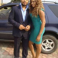 Ramsy and Rukky sanda on set of the new movie