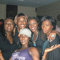 At Genevieve Nnaji's 30th birthday bash