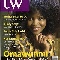 On the cover of TW magazine