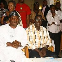 Ogogo and Yinka Quadri @ 50