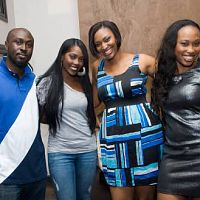 Tiwa Savage @Omawunmi's video Premier in las Gidi!