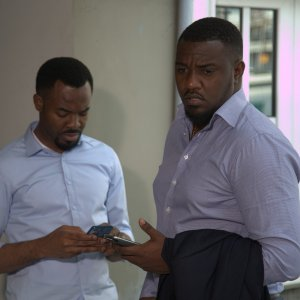 OC Ukeje and John Dumelo in Unbreakable